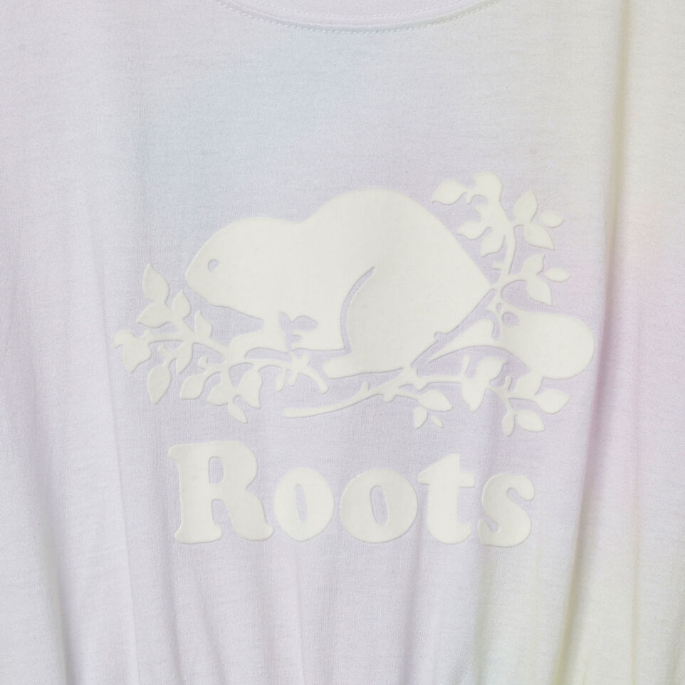 Roots-Kids Our Favourite New Arrivals-Girls T-shirt Dress-Ivory-D