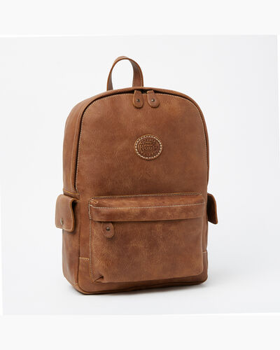 Roots-Men Backpacks-Central Pack Tribe-Natural-A