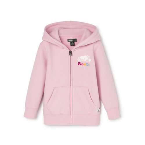 Roots-Kids Toddler Girls-Toddler Original Full Zip Hoody-Fragrant Lilac-A