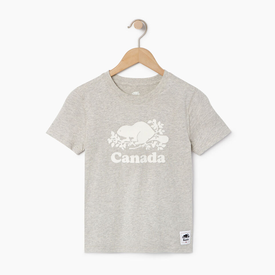 Roots-Kids Our Favourite New Arrivals-Boys Canada T-shirt-Grey Mix Pepper-A
