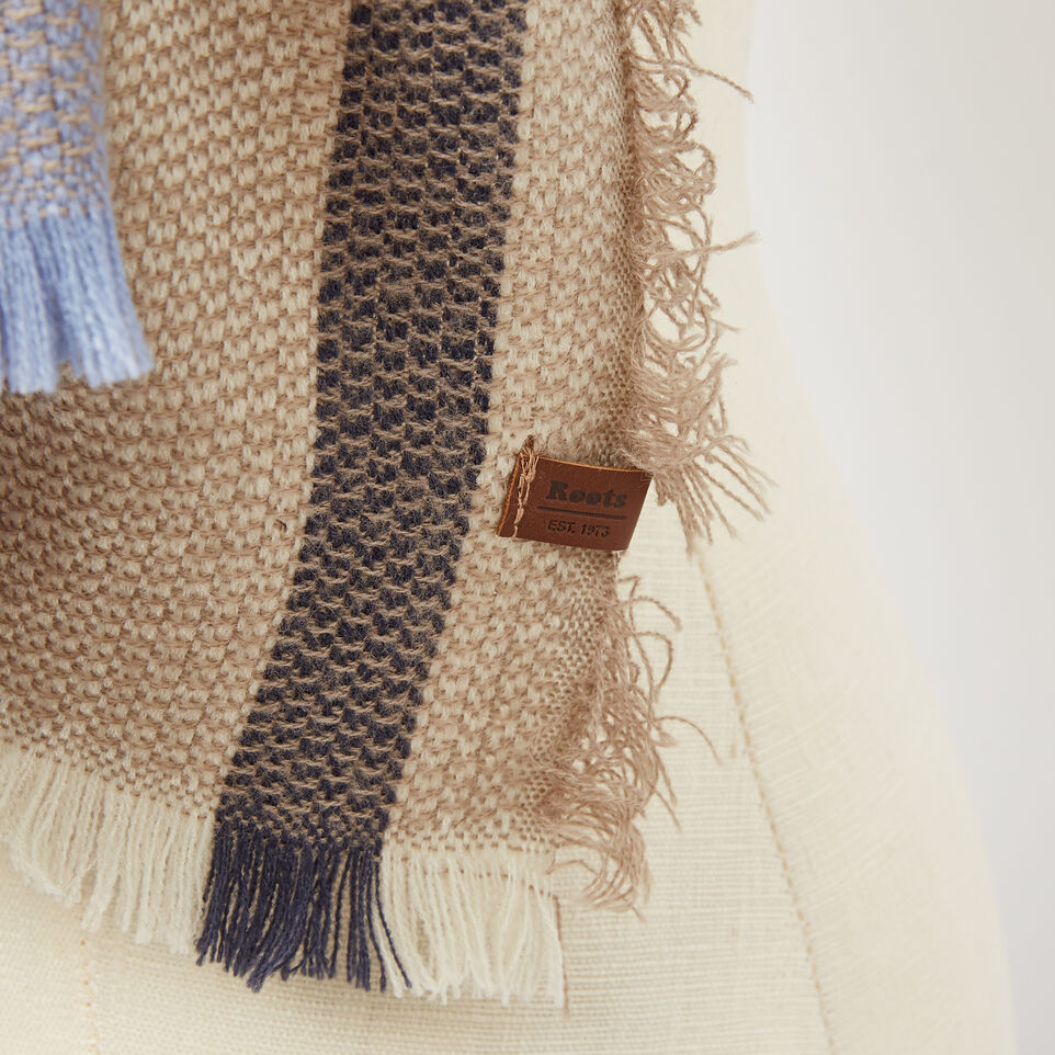 Roots-undefined-Kathleen Blanket Scarf-undefined-C