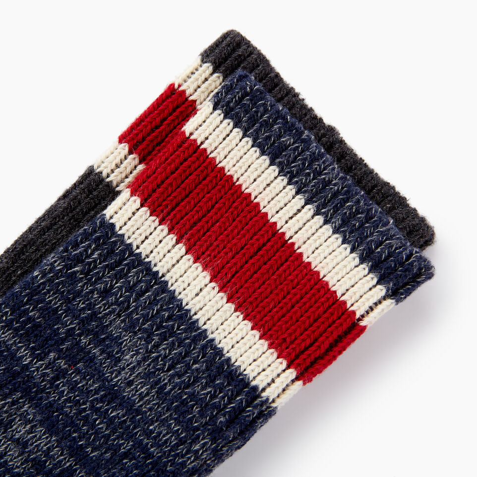 Roots-undefined-Mens Hockey Stripe Sock 2 Pack-undefined-C