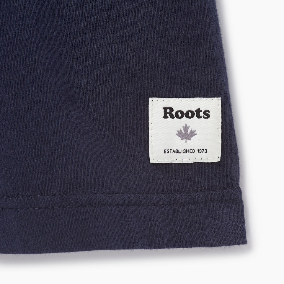 Roots-Men Our Favourite New Arrivals-Mens Quotes T-shirt-Navy Blazer-C