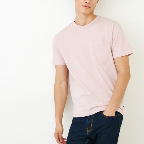 Roots-Men Categories-Essential Pocket T-shirt-Burnished Lilac-A
