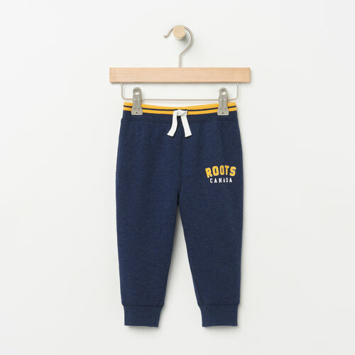 Roots-Kids Baby Boy-Baby Walden Varsity Pant-Cascade Blue-A