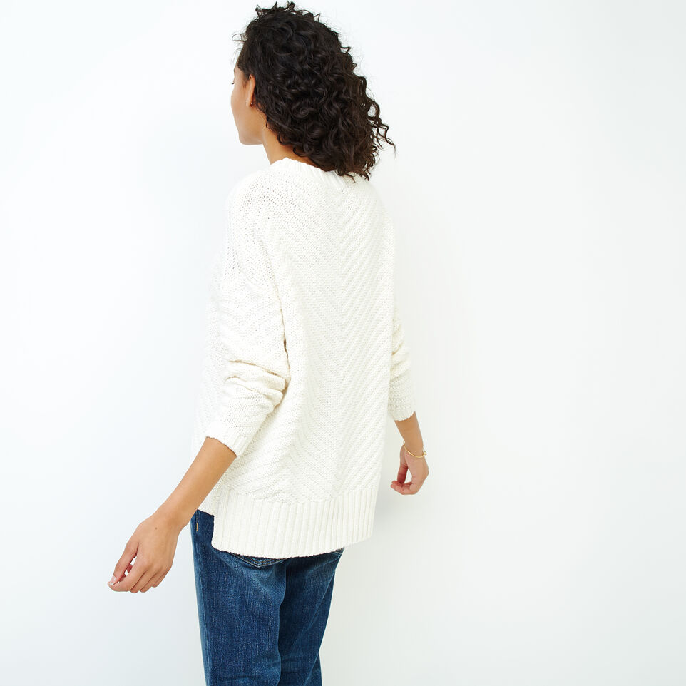 Roots-Women Sweaters & Cardigans-Elora Pullover Sweater-Ivory-D