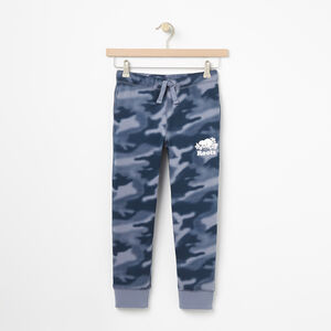 Roots-Kids Sweats-Boys Blurred Camo Slim Sweatpant-Flint Stone-A