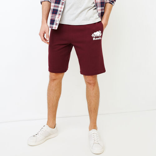 Roots-New For July Men-Original Sweatshort 10.5 In-Northern Red-A