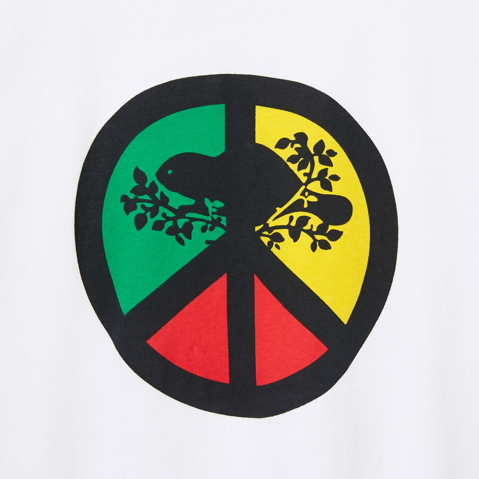 Roots-undefined-Mens Roots Peace T-shirt-undefined-D