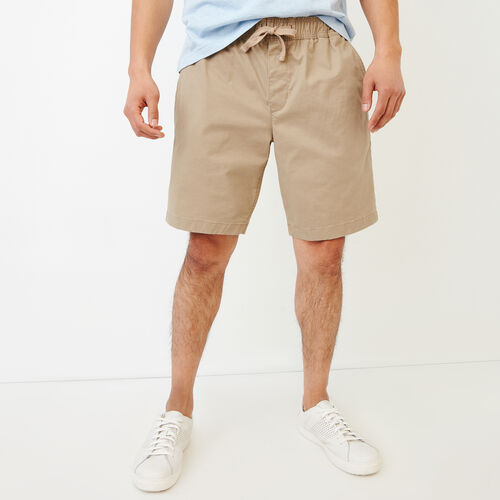 Roots-Men Our Favourite New Arrivals-Essential Short-Dark Khaki-A