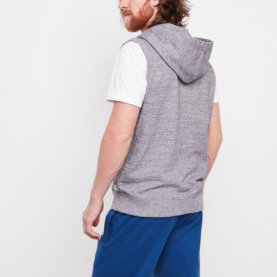 Roots-undefined-Roots Salt and Pepper Sleeveless Anorak-undefined-D