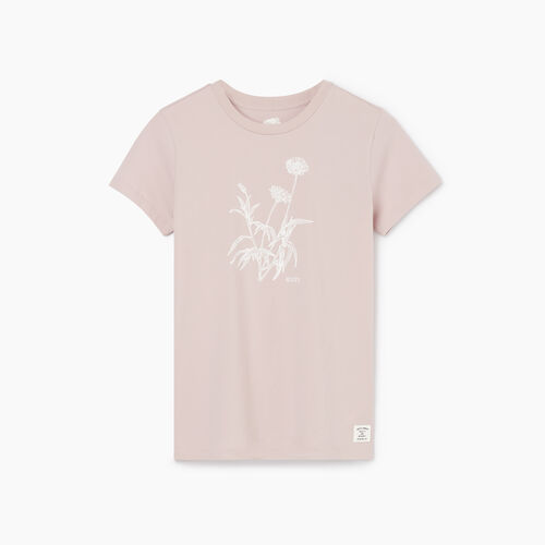 Roots-Women New Arrivals-Womens Botanical Organic T-shirt-Burnished Lilac-A