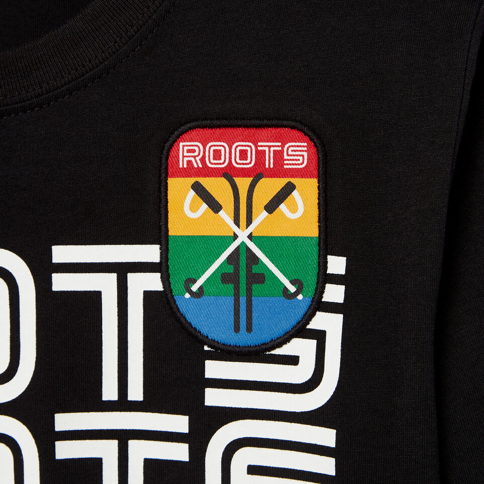 Roots-undefined-Boys Ski Patch T-shirt-undefined-D