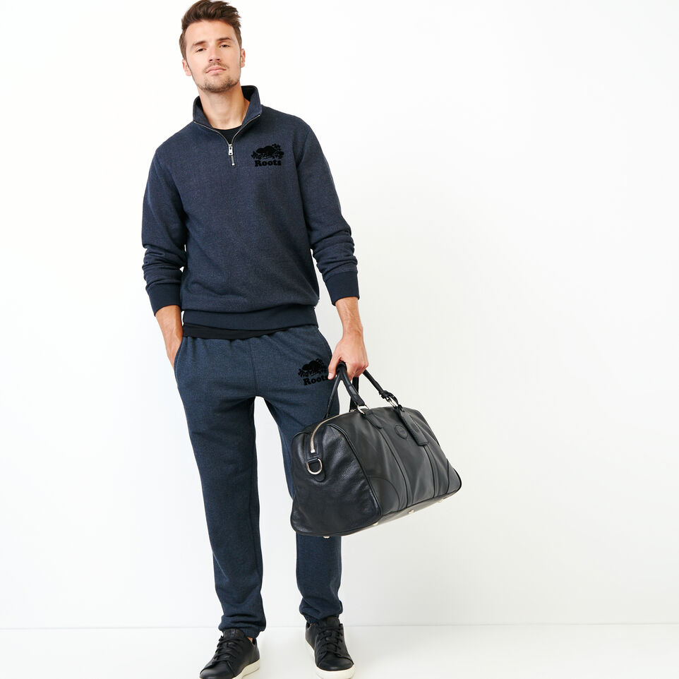 Roots-Men Our Favourite New Arrivals-Original Zip Stein-Navy Blazer Pepper-B