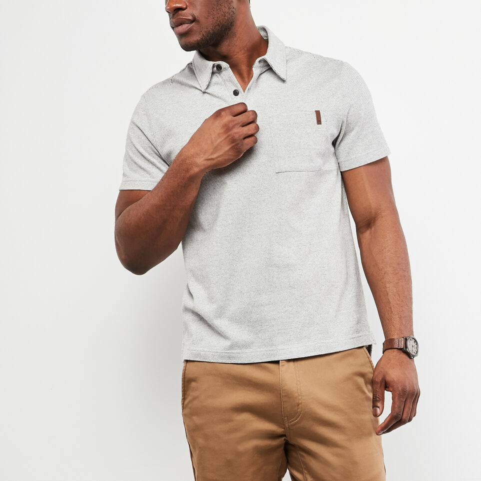 Roots-undefined-Polo En Jersey Cèdre Rayé-undefined-A