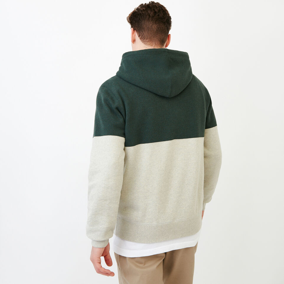 Roots-Men Our Favourite New Arrivals-Athletic Dept. Zip Hoody-Spray Green Mix-D