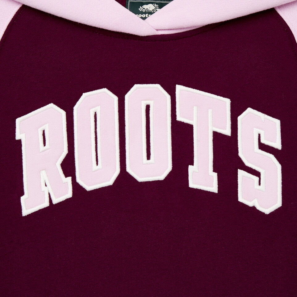 Roots-Kids Our Favourite New Arrivals-Girls 2.0 Hooded Dress-Pickled Beet-C