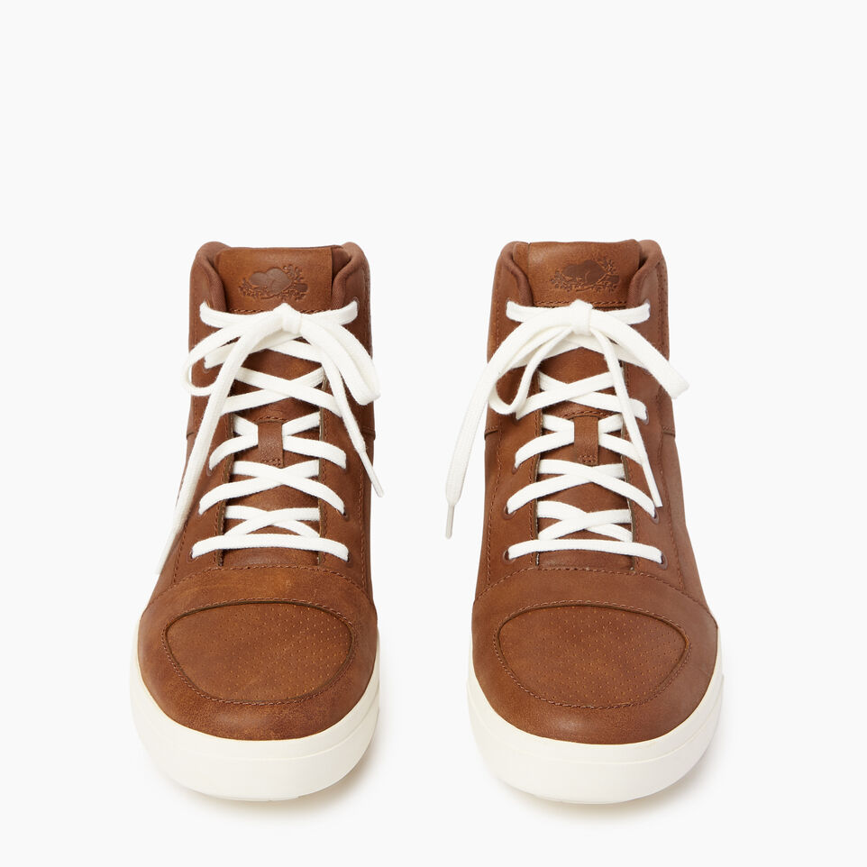 Roots-Footwear Men's Footwear-Mens Ossington Hightop-Natural-D