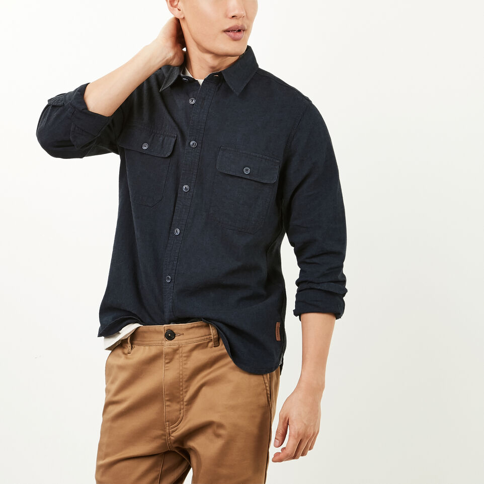 Roots-undefined-Acadian Linen Shirt-undefined-B