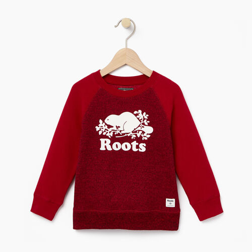 Roots-Winter Sale Toddler-Toddler Original Crewneck Sweatshirt-Cabin Red Pepper-A