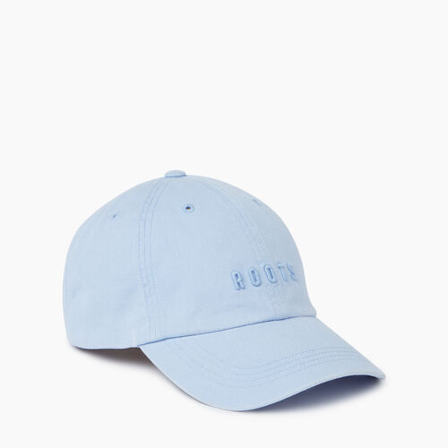 Roots-Men Accessories-Roots Classic Baseball Cap-Baby Blue-A