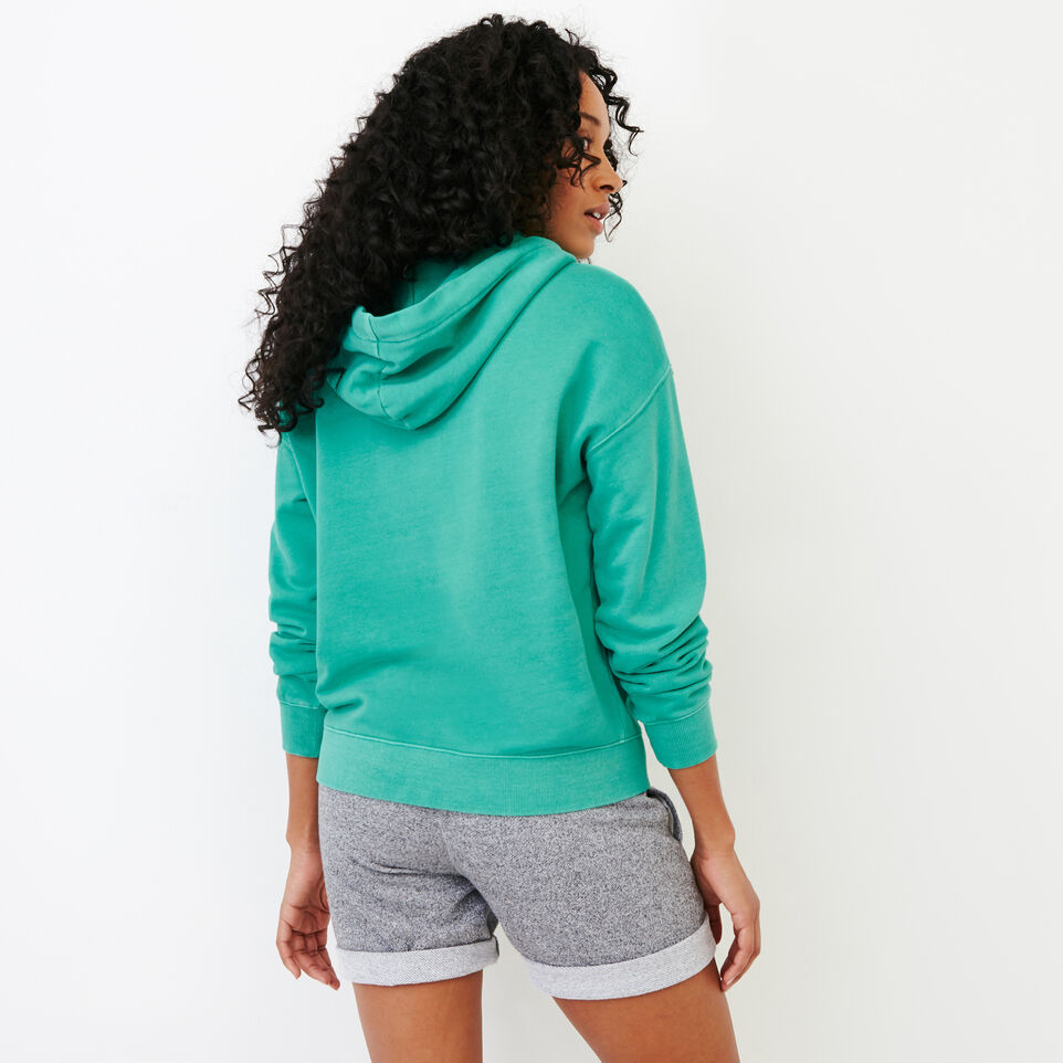 Roots-Women Our Favourite New Arrivals-Kelowna Full Zip Hoody-Sea Green-D