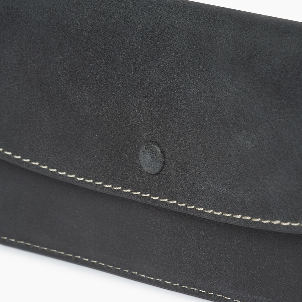 Roots-Leather  Handcrafted By Us Our Favourite New Arrivals-Riverdale Slim Wallet-Jet Black-C