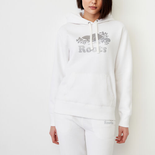 Roots-Women Our Favourite New Arrivals-Roots Reflective Hoody-White-A