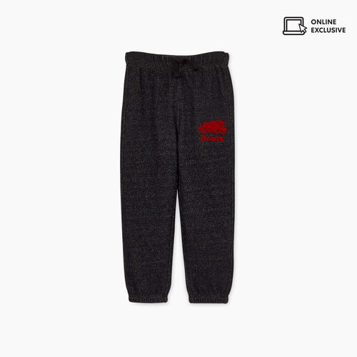 Roots-Sale Toddler-Toddler Heritage Plaid Sweatpant-Black Pepper-A