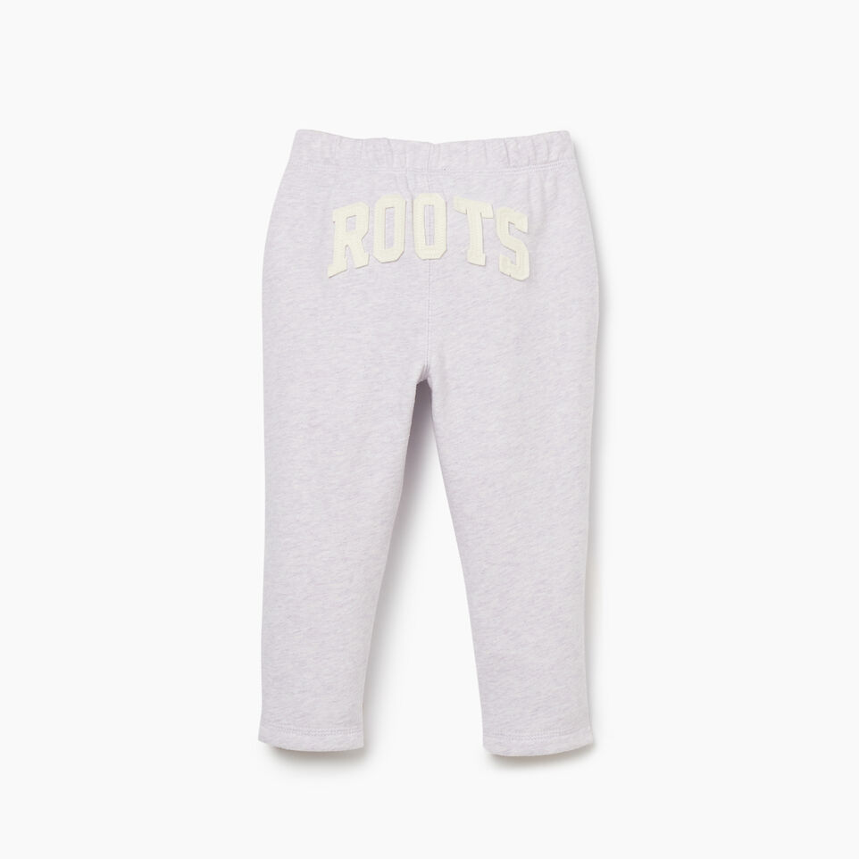 Roots-Kids Bottoms-Toddler Easy Ankle Sweatpant-Wisteria Mix-B