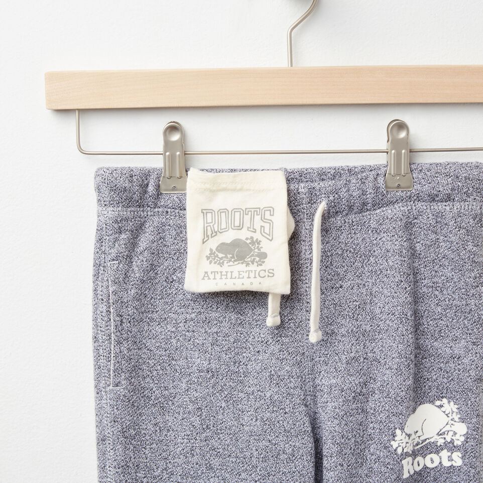 Roots-undefined-Girls Roots Salt and Pepper Original Sweatpant Rts-undefined-F