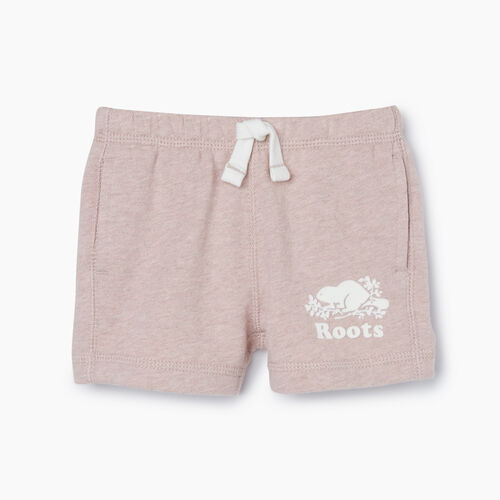 Roots-Kids Bottoms-Baby Original Roots Short-Deauville Mauve Mix-A