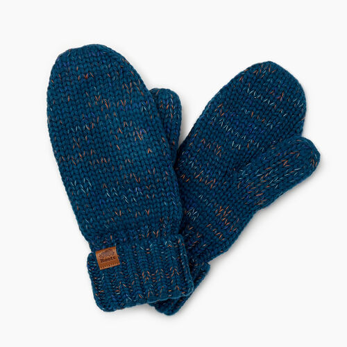 Roots-Gifts Accessory Sets-Canmore Mitten-Aqua Mix-A