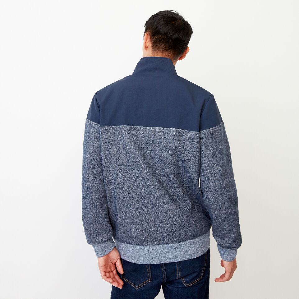 Roots-undefined-Mt. Odin Half Zip Sweatshirt-undefined-D