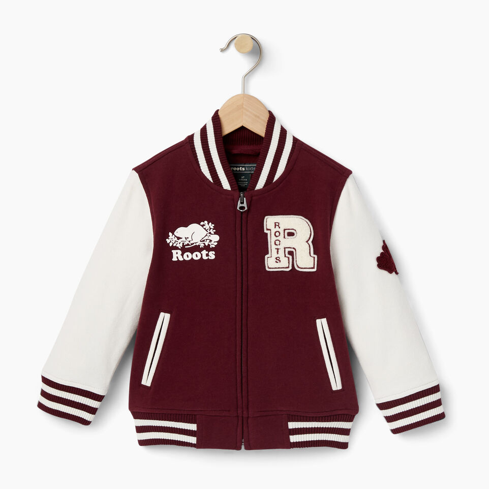 Roots-Toddler Alumni Varsity Jacket