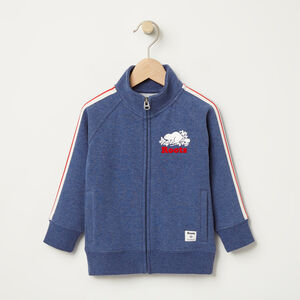 Roots-Kids Toddler Boys-Toddler National Track Jacket-Cascade Blue Mix-A