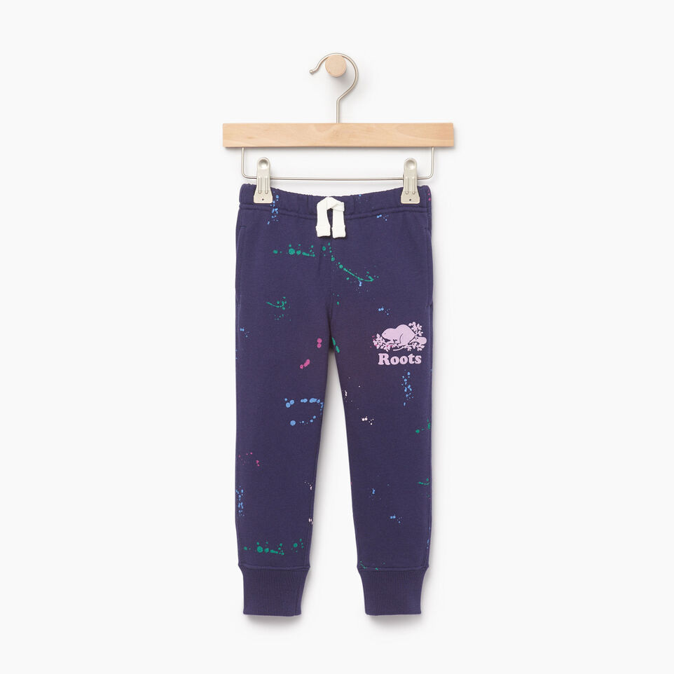 Roots-Kids Our Favourite New Arrivals-Toddler Splatter Sweatpant-Eclipse-A
