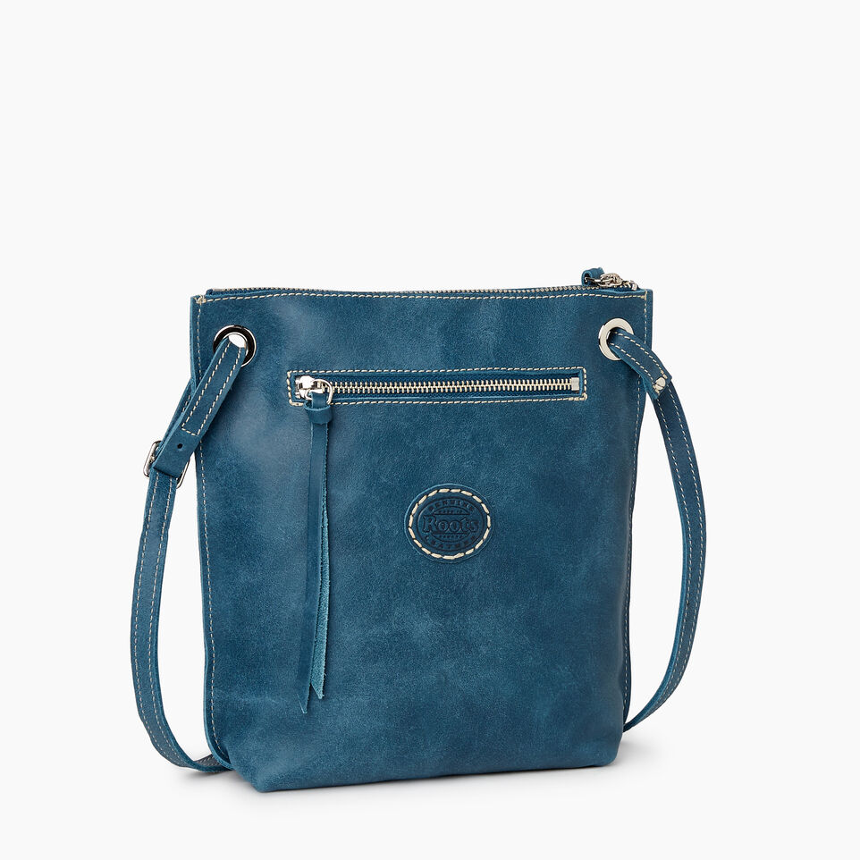 Roots-Women Categories-Festival Bag Tribe-Teal Green-C