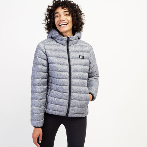 Roots-Women Outerwear-Roots Packable Jacket-Salt & Pepper-A