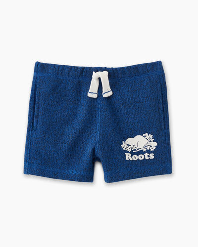 Roots-Kids Baby-Baby Original Short-Classic Blue Pepper-A