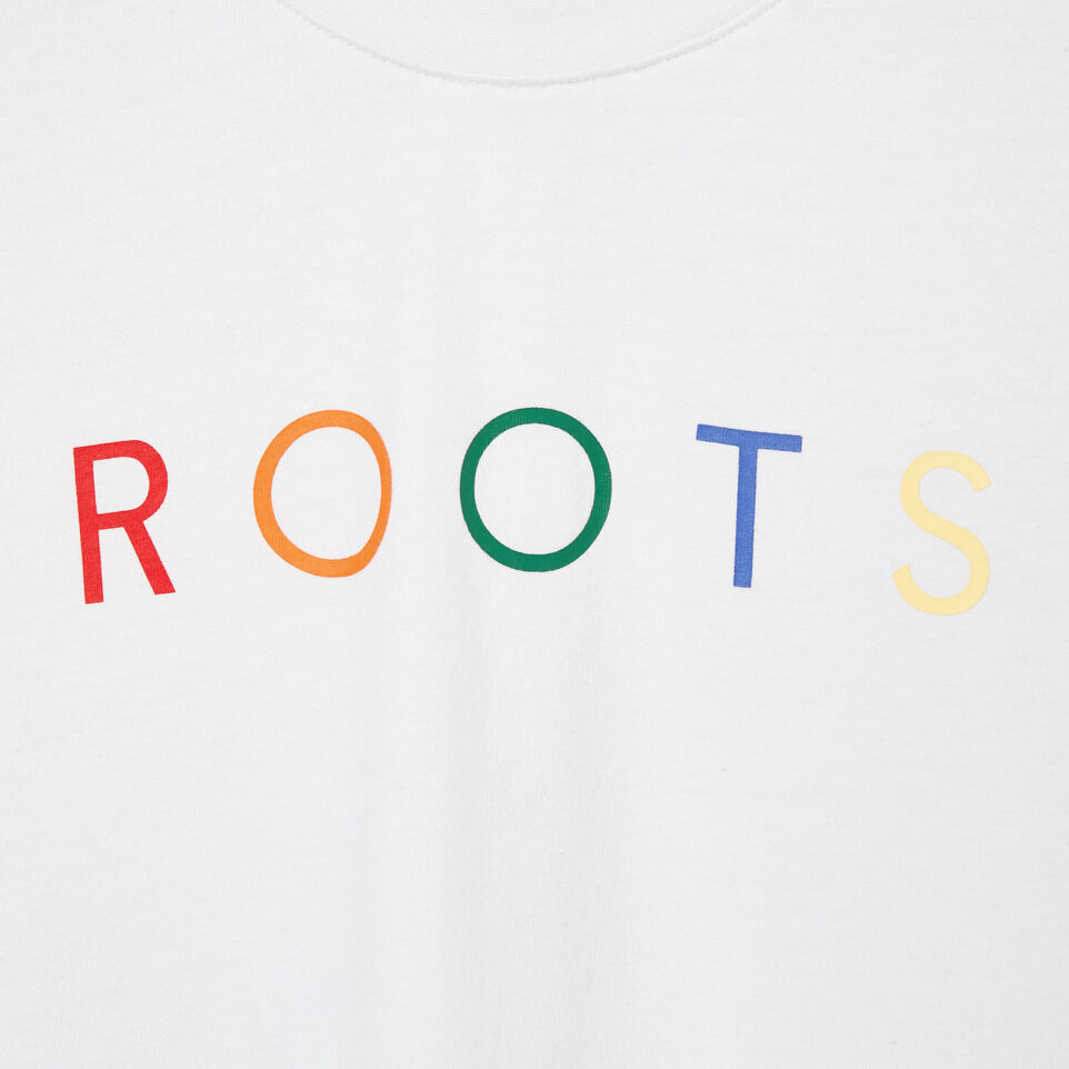 Roots-New For May Women-Womens Spectrum T-shirt-Crisp White-D
