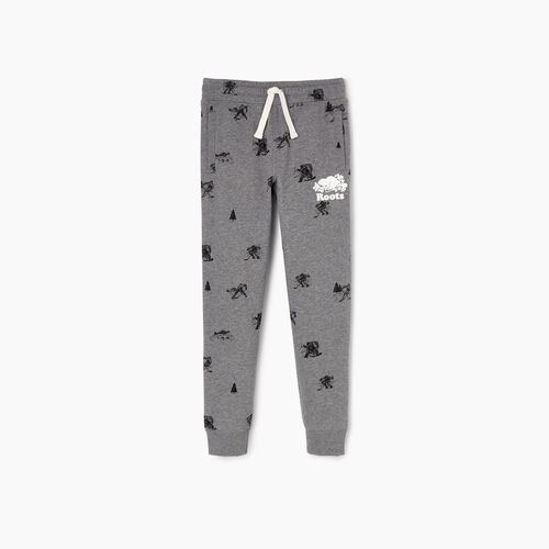 Roots-New For February Kids-Boys Hockey Aop Sweatpant-Medium Grey Mix-A