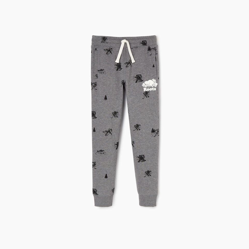Roots-undefined-Boys Hockey Aop Sweatpant-undefined-A