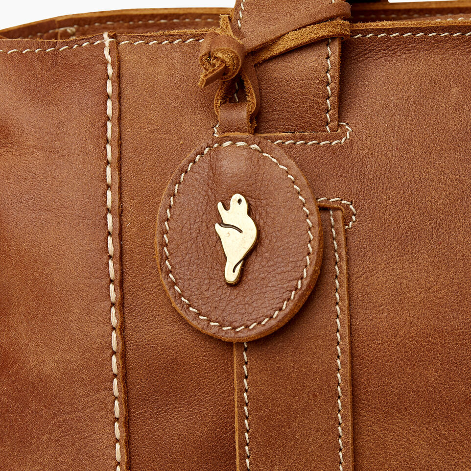 Roots-Leather  Handcrafted By Us Our Favourite New Arrivals-Victoria Tote-Natural-F