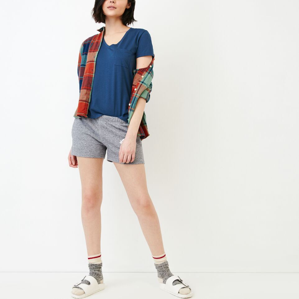 Roots-Women Our Favourite New Arrivals-Rennie Pocket Top-Sargasso Sea-B