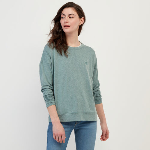 Roots-New For February Journey Collection-Journey Long Sleeve Top-North Atlantic Mix-A