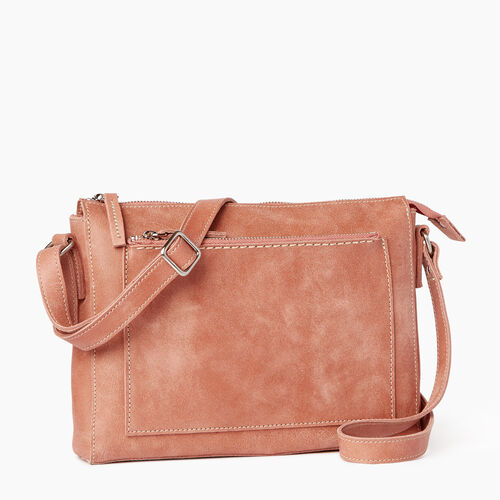 Roots-Leather  Handcrafted By Us Handbags-Robson Bag-Canyon Rose-A