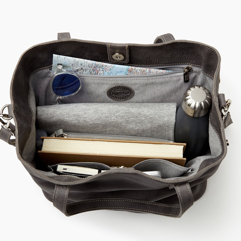 Roots-Women Bags-Amelia Tote-Charcoal-D