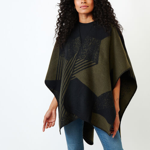 Roots-Women Categories-Revelstoke Wrap-Multi-A