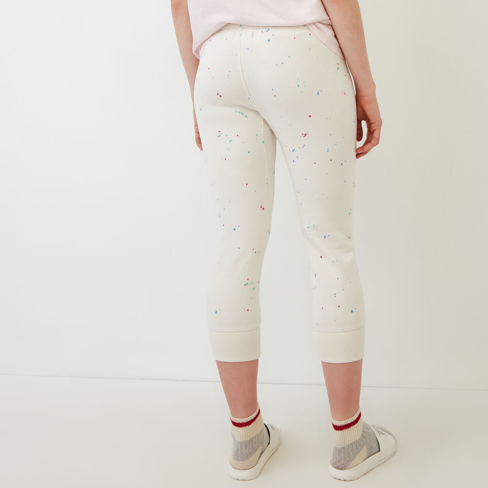 Roots-undefined-Splatter Cropped Sweatpant-undefined-D